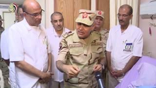 وزير الدفاع: الشعب المصري يعتز بقواته المسلحة وبطولات رجاله .. فيديو