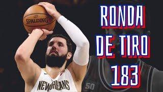 RONDA DE TIRO NBA 183 - NIKOLA MIROTIC ON FIRE Y TORONTO INFRAVALORADO