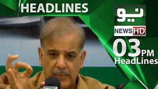 News Headlines - 03:00 PM | 24 June 2018 | Neo News