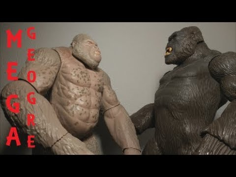 Rampage The Movie Mega George By Lanard Toys Review Youtube