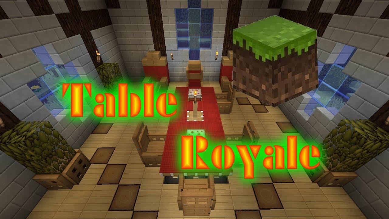 Table royale minecraft flash deco ep 2 youtube - Comment faire une table dans minecraft ...
