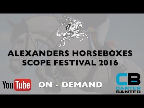 Alexanders Horseboxes Scope Festival   Bliss of London 1.10m Tour