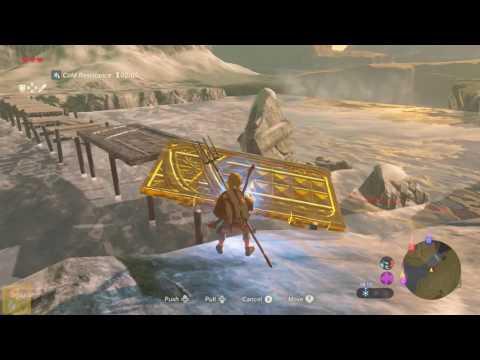 Legend of Zelda: Breath of the Wild - How to Cross River of the Dead's Broken Bridge