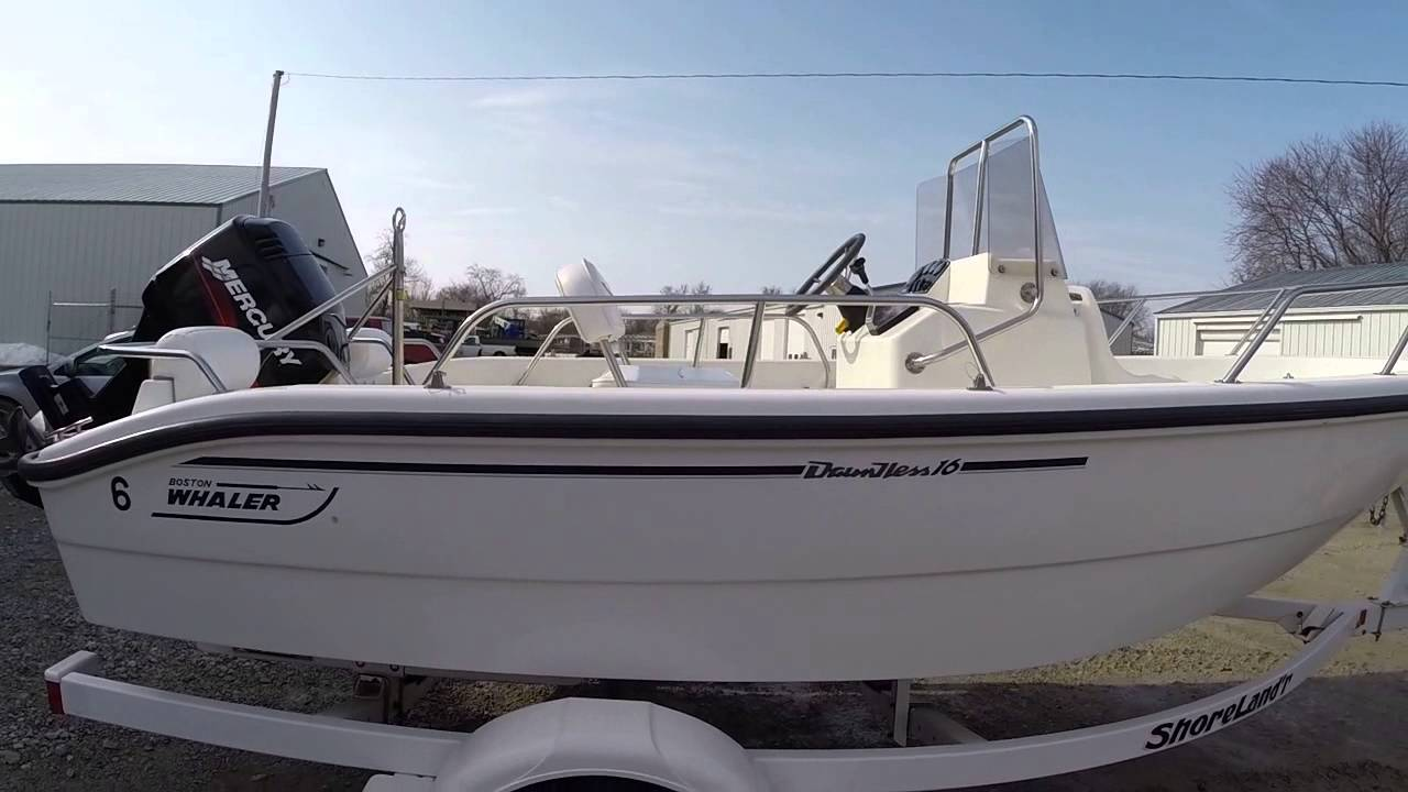 2000 Boston Whaler 16 Dauntless For Sale @ Clear lake Boats