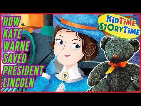 How Kate Warne Saved President Lincoln (1st Woman Detective) READ ALOUD!
