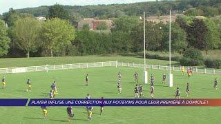 Yvelines | Plaisir inflige une correction aux Poitevins pour leur première à domicile !
