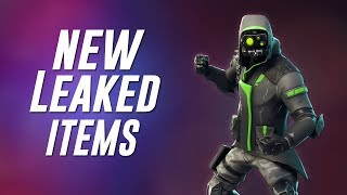 *NEW* Fortnite Battle Royale LEAKED Items !