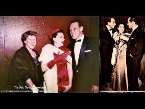 JUDY GARLAND MOSS HART KITTY CARLISLE rare Radio Interview 1954