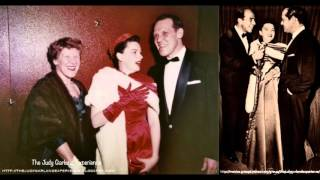 JUDY GARLAND MOSS HART KITTY CARLISLE rare Radio Interview 1954