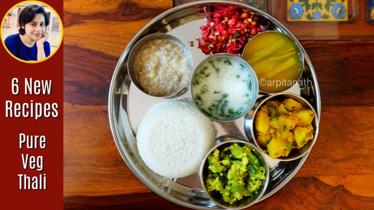 Download Pure Veg / Satvik Indian Thali in 60 Minutes + 6 Recipes    Weight Loss Recipes #IndianVegThali