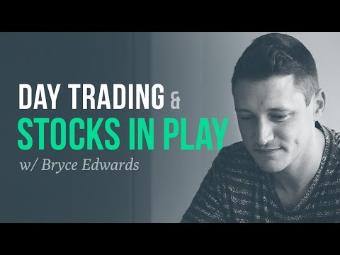 "Day trading ""stocks in play"" and momentum 