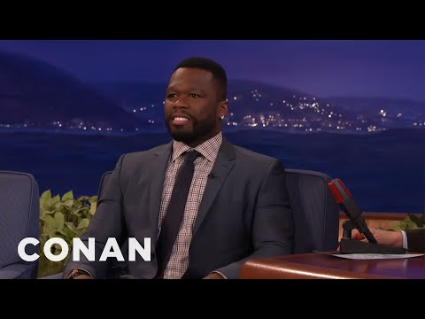 Curtis '50 Cent' Jackson Got Arrested For Swearing In St. Kitts  - CONAN on TBS