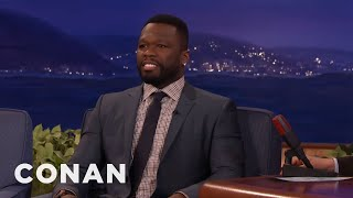 curtis 50 cent jackson got arrested for swearing in st kitts conan on tbs