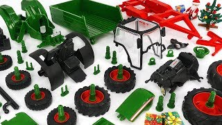 Santa's sleigh is broken! Rusty Rivets! Make us Tractor-Trailer with Model Assembly Kit! #DuDuPopTOY