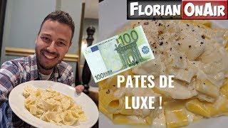 DEGUSTATION de PÂTES de LUXE : 95 EUROS! -  VLOG #788