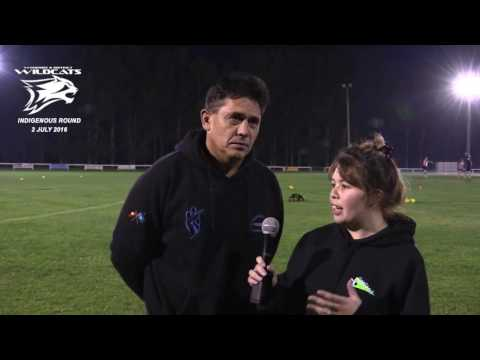 Woodside Indigenous Round -  Interview with Shaun Braybrook
