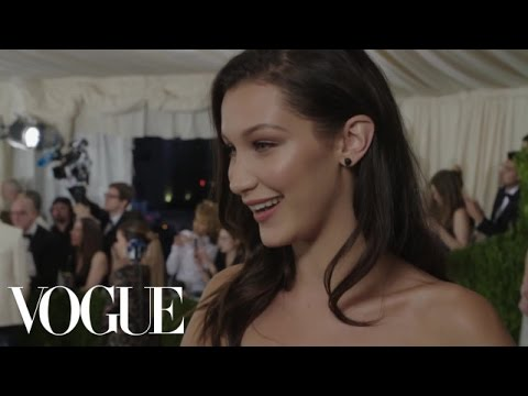 Bella Hadid on How Long It Takes to Get Ready for the Met Gala | Met Gala 2016