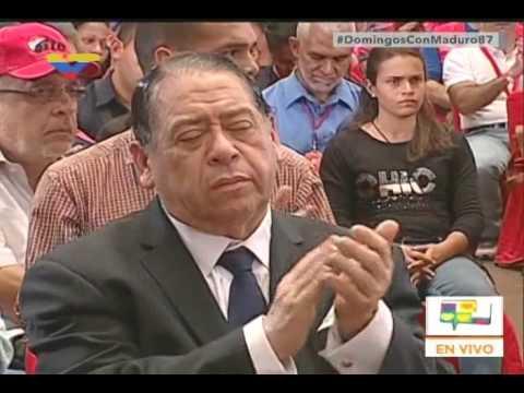 Cadena de Nicolás Maduro condenando que hayan quemado a joven por parecer chavista en Altamira