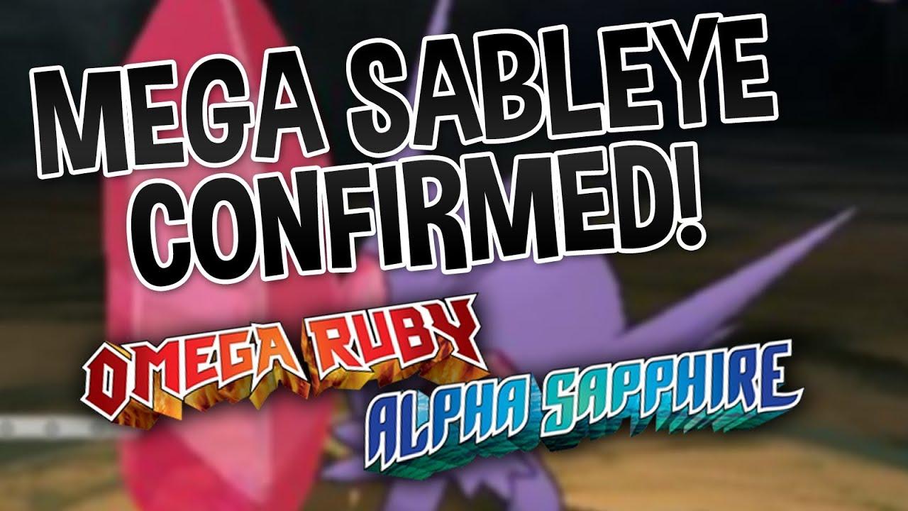 Mega Sableye Confimred! - Pokemon Omega Ruby and Alpha ...  Mega Sableye Co...