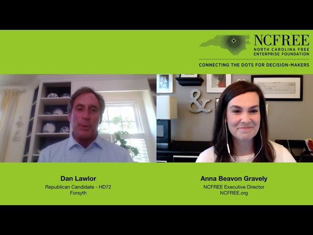 NCFREE Candidate Interview – Dan Lawlor, HD72