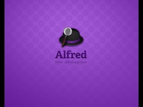Alfred App Setup & Tour