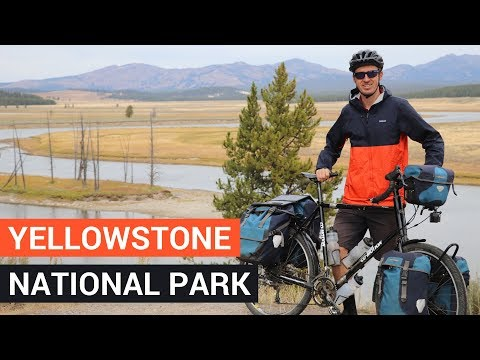 CYCLING in YELLOWSTONE NATIONAL PARK - Bicycle Touring Pro / EP. #259