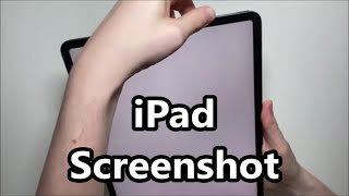How to Screenshot oฑ iPad Pro (Or Any iPad)