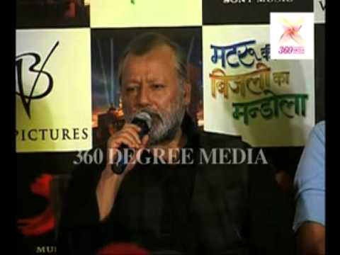 'Matru ki Bijlee ka Mandola'- Pankaj Kapur says actors, direction, story of the movie are fantastic