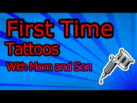 Mother and Son Get First Tattoos Together