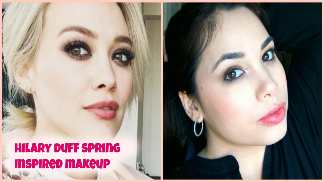 hilary duff eye makeup tutorial