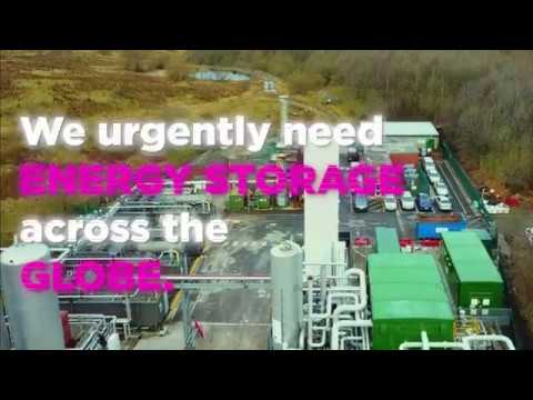 Highview Power switch on the world's first grid-scale liquid air energy storage plant