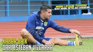 Download Video KABAR BAIK BUAT BOBOTOH..!! Esteban Vizcarra Sudah Mulai Latihan ⚽️ Siap Main Setelah Lebaran 🔥🔥 MP3 3GP MP4