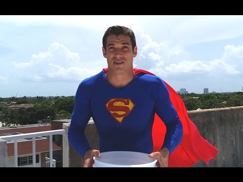 Superman Ice Bucket Challenge