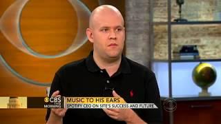 spotify ceo daniel ek discusses the music industry