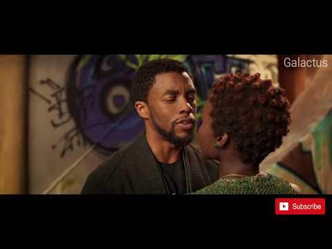 Black Panther Kissing Scene HD thumbnail