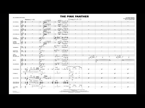 The Pink Panther by Henry Mancini/arr. Paul Murtha