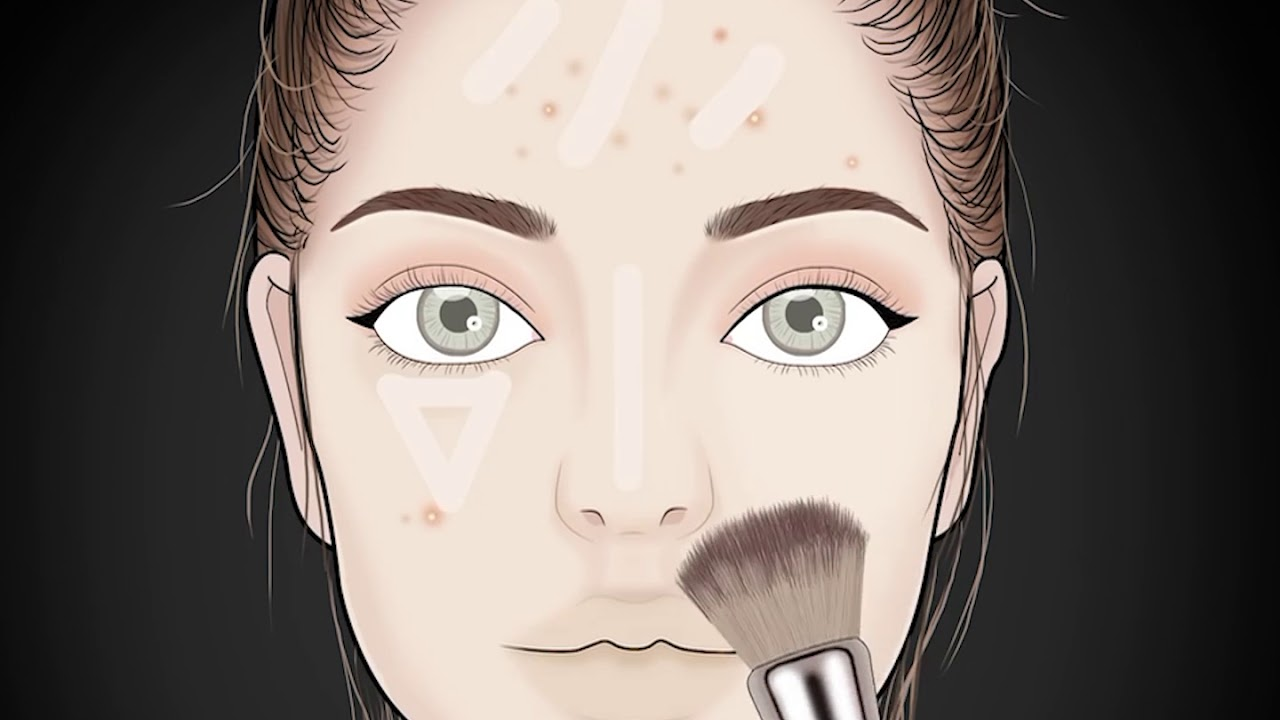 Highschool Makeup Animation By Lulupang