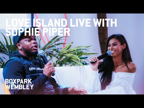 Love Island Live With Sophie Piper At BOXPARK Wembley