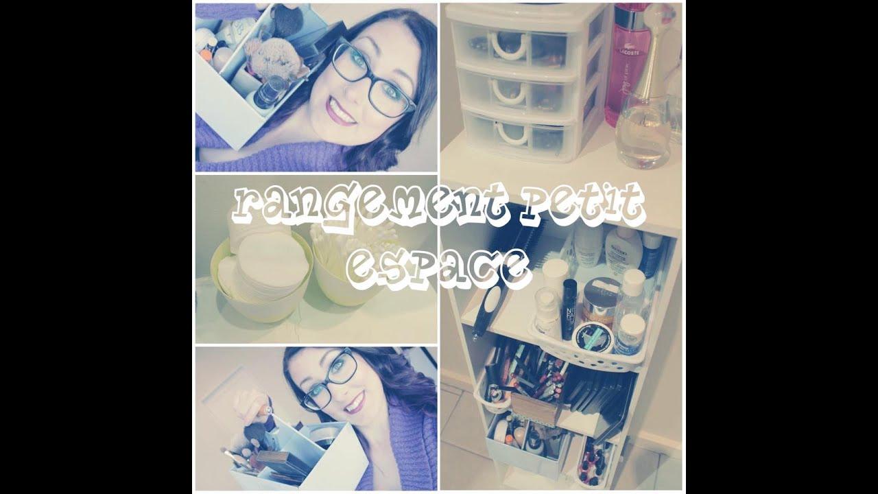Astuce rangement maquillage petit espace youtube - Astuce rangement maquillage ...