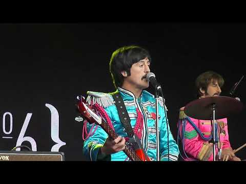 A DAY IN THE LIFE. BOOTLEG BEATLES. FESTIVAL No6 2017