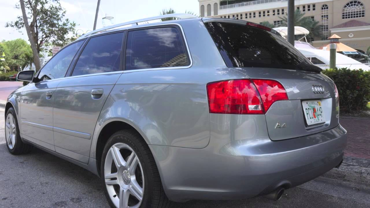 2006 audi a4 wagon quattro youtube. Black Bedroom Furniture Sets. Home Design Ideas