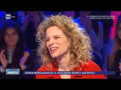 Sonia Bergamasco: da Strehler a Montalbano passando per Zalone - La Vita in  Diretta 19/02/2018