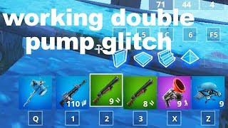 I found a DOUBLE PUMP glitch in Fortnite Season 7.. ShotGunPlays