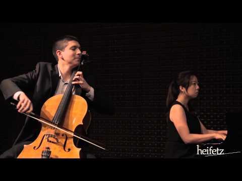 Heifetz 2015: Martinu Cello Sonata No. 2 - Ist Movement