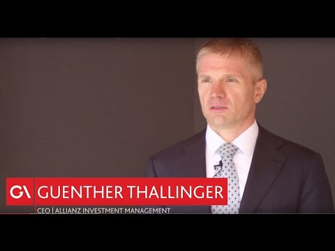 Dr Guenther Thallinger, CEO Allianz Investment Management