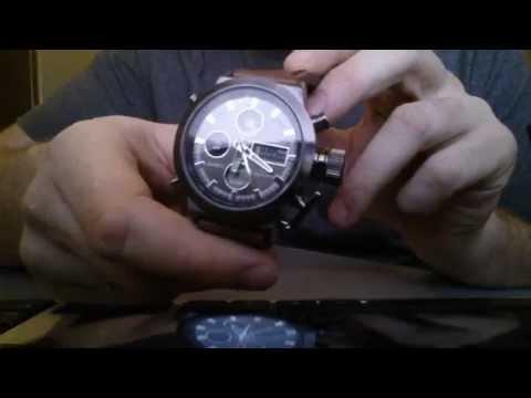 Наручные мужские часы из Китая.