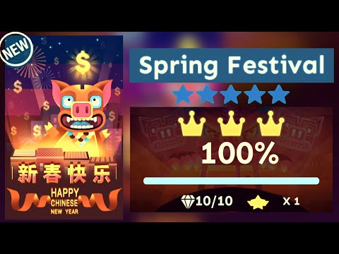 Rolling Sky - Spring Festival (Level 36) [OFFICIAL]