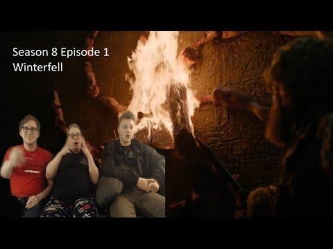 Game of Thrones Reaction Season 8 Episode 1 'Winterfell' S08 E01