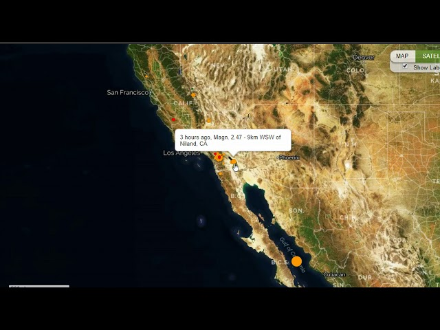 Earthquake Swarm Hits Southern California, Mid Level Quake Strikes Gulf