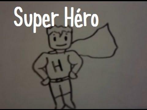 Dessiner un super hero youtube - Super heros a dessiner ...